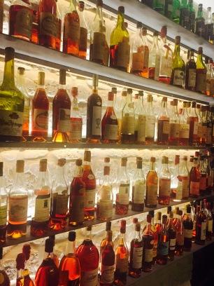 La réserve d'alcools forts